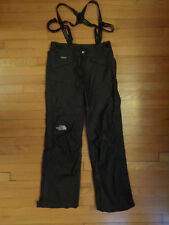 The North Face Hyvent Ski/Snow Pants, Suspenders, Side Zip, Small