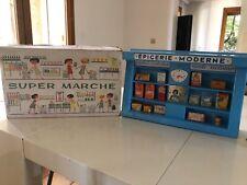 SUPER MARCHÉ - ÉPICERIE MODERNE jouet ancien réf: B7 jouets mont blanc