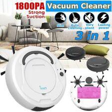 1800PA Multifunctional Smart Floor Cleaner Vacuum Robot 3-In-1 Auto Rechargeable
