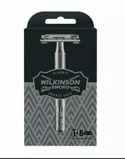 Wilkinson Sword Classic Double Edge Safety Razor With 5 Blades