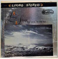 "1960 Living Strings ""Play Music of the Sea"" LP RCA Camden CAS-639"