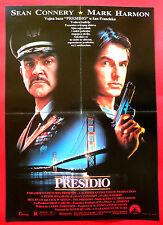 PRESIDIO 1988 SEAN CONNERY MARK HARMON MEG RYAN PETER HYAMS EXYU MOVIE POSTER