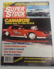 Super Stock Magazine Camaro super Gas To Pro Stock May 1984 072415R
