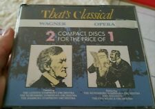That's Classical Wagner, Opera ( 4 discs) MUSIC CD - FREE POST