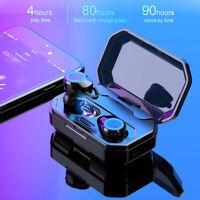 3000mAh Waterproof Bluetooth 5.0 Earbuds True Wireless Headset Twins Earphone