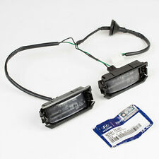Genuine Hyundai License Plate Light Lamp for 2003-2006 Tiburon Coupe Fl1