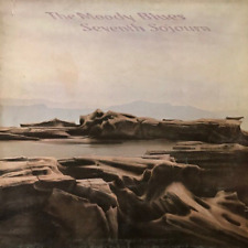 THE MOODY BLUES - Seventh Sojourn (LP) (VG-/G+)