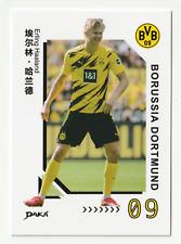 CARD ERLING HAALAND #19 BVB BORUSSIA DORTMUND DAKA 2020-21 2021 MINT 2ND ROOKIE