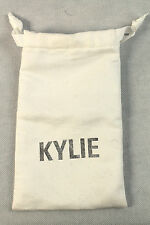 Kylie Cosmetics White Drawstring Bag / Pouch - Excellent Condition