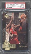 1995 UD #JC13 ** Michael Jordan ** 1986 G-PARTY INVESTMENT PSA 10 GEM MINT RARE!