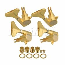 Gold Sealed Electric bass Tuners Tuning pegs Machine Heads 2R2L