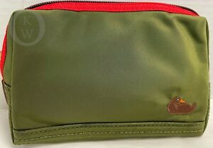 NWT*Dooney & Bourke *Olive Green*Nylon*Cosmetic/Make Up/ Utility Bag*21145X S165