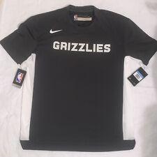 New Nike Memphis Grizzlies NBA Team Issued Shooting Shirt Gray Men's Size Medium