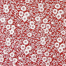 4x serviettes en papier pour découpage DECOPATCH Craft Calico Rouge