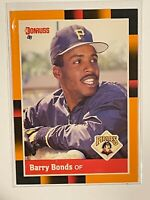1988 Donruss Baseball's Best #17 Barry Bonds Pittsburgh Pirates NM