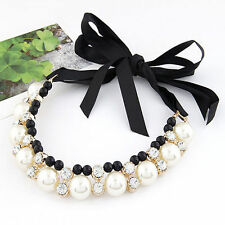 Statement Pearl Chunky Costume Necklaces & Pendants