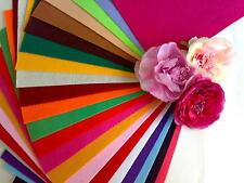 10 Feuilles Feutrine Format A4  20x30cm Assortiment 10 couleurs Scrapbooking