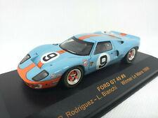 IXO 1:43 - LMC 025 FORD GT 40 #9 Winner Le Mans 1968 - P. Rodríguez L. Bianchi