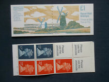 Fh21 No3 Jack And Jill Mills Clayton Sussex £1 Machin Stamp Booklet Umfb48