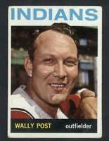 1964 Topps #253 Wally Post VG/VGEX Indians 31958