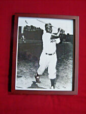 Jackie Robinson Vintage Photographic Glossy Print Framed with Glass 8x10