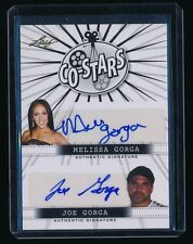 MELISSA GORGA JOE GORGA 2014 POP CENTURY CO-STARS AUTOGRAPH AUTO REAL HOUSEWIVES