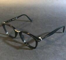 Céline Celine Black Round Square Cats Eye Eyeglasses Frames CL 41419 807 140