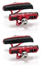 XLC Cartridge Road Bremsschuhe BS-R06 CNC 4er Set Bremsbeläge Bremsbelag Rennrad