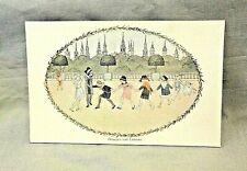 Antique H Willebeek Le Mair Augener Postcard Nursery Rhyme Oranges and Lemons