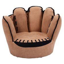 Kids Sofa Baseball Golves Armrest Chair Couch Children Living Room Toddler  Gift