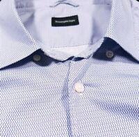 Ermenegildo Zegna Slim Fit Button Up Shirt Size 3XL XXXL Men's