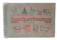 Hand Craft Projects Bk 2 Frank Solar 1922 Toys Pea Shooter Fire Cracker Pistol