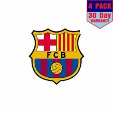 Fc Barcelona Barca Spain Soccer 4 Stickers 4x4 Inches Sticker Decal