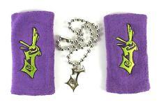 Jeff Hardy J Logo WWE Pendant Necklace Chain Wristbands Fan