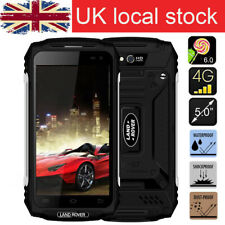 UK Unlocked 4G Land X2 Rugged Smartphone Rover Android 6.0  Mobile Phone Black