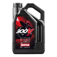 Motul 300V 10W40 10W-40 4T FACTORY LINE Motorcycle Synth ENGINE OIL 4L 450009