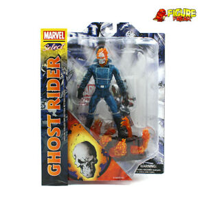 """Marvel Select Ghost Rider Johnny Blaze 7"""" Action Figure (NM Package!)"""