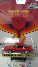 Greenlight Exclusive Fire-Am 1979 Pontiac Firebird T/A   (NG125)