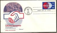 US SC # 1558 Collective Bargaining FDC. Fleetwood  Cachet.