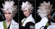 Death Hitsugaya Toushirou white short cosplay wig H167