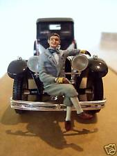 FIGURINE  1/43  PEINTE  FVP 4  JEAN  BUGATTI  VROOM  PAINTED  FIGURE  NO CHROMES
