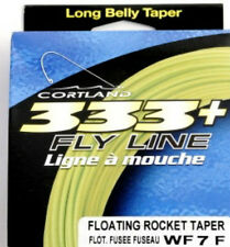 Cortland 333+ WF-7-F Floating Rocket Taper Fly Fishing Line NEW