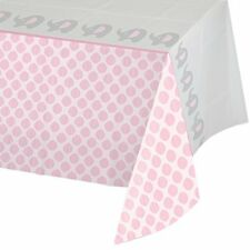 """Creative Converting 316946 All Over Print Plastic Tablecover 54 X 102"""" Little Peanut Girl"""