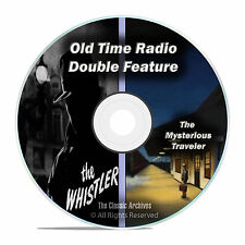 The Whistler + Mysterious Traveler, ALL 601 Shows, Old Time Radio, OTR, DVD F62