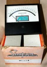 Simpson Instrument Analog Dissolved Oxygen Meter NOS