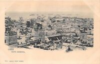 CADIZ SPAIN VISTA GENERAL~HAUSER Y MENET PUBLISHED PHOTO POSTCARD 1900s