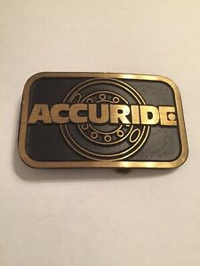 Accuride Belt Buckle Dyna Buckle Provo Utah Solid Brass