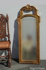 Vintage French Provincial Gold Wall Mantle Mirror by Carolina Mirror Co.