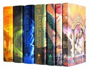 Complete Harry Potter Full Book Set Volumes 1-7 Hardback (FFF)