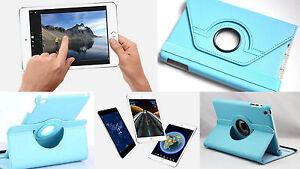 "Flip Tasche 360° Apple iPad Mini 4 7,9"" Etui Smart Case Cover Schutzhülle Folie"